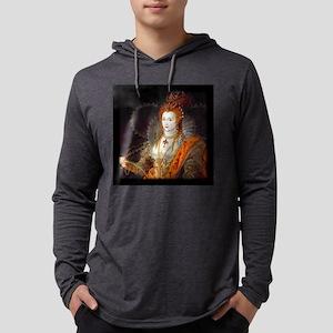 Queen Elizabeth I Mens Hooded Shirt