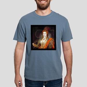 Queen Elizabeth I Mens Comfort Colors Shirt