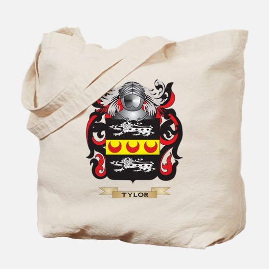 Tylor Family Crest (Coat of Arms) Tote Bag