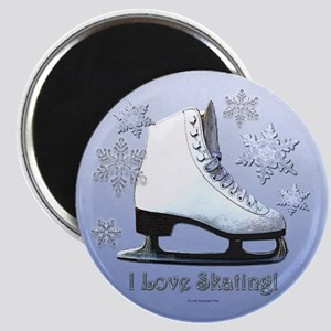 I Love Skating! Magnets