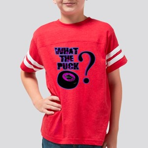 what_the_puck_pink Youth Football Shirt