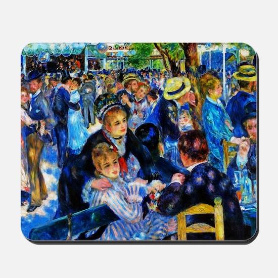 Renoir: Dance at Le Moulin de la Galette Mousepad