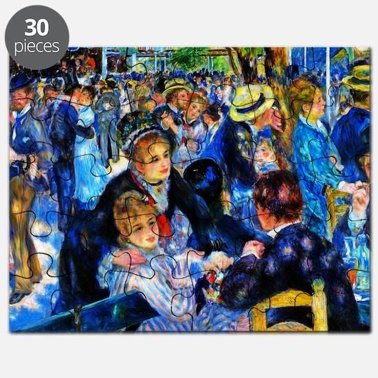 Renoir: Dance at Le Moulin de la Galette Puzzle
