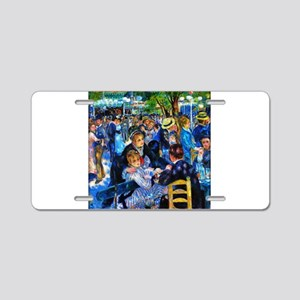 Renoir: Dance at Le Moulin Aluminum License Plate