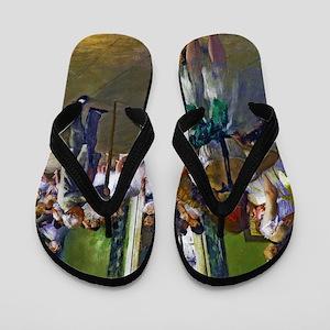 Degas - The Ballet Class Flip Flops