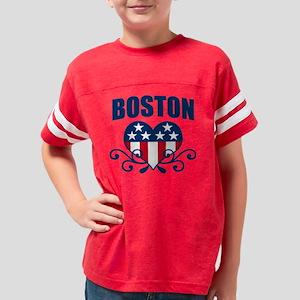 AMERICAHEARTBOSTON Youth Football Shirt