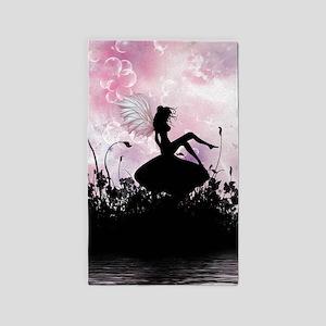 Fairy Silhouette 3'x5' Area Rug