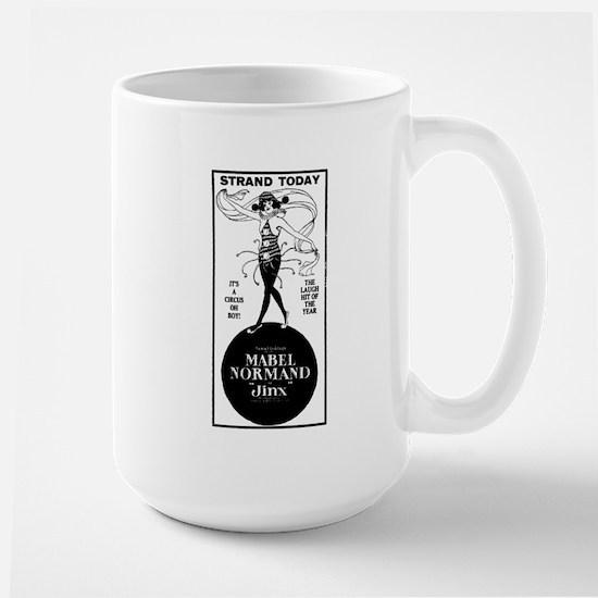 Mabel Normand Jinx Large Mug