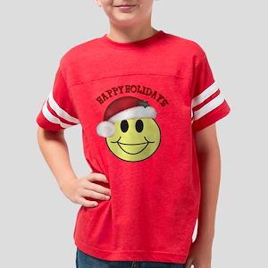 happy holidays Youth Football Shirt