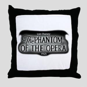 Film Title Logo 3 Throw Pillow