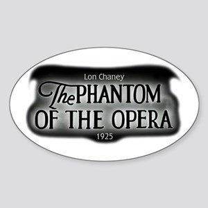 Film Title Logo 3 Oval Sticker