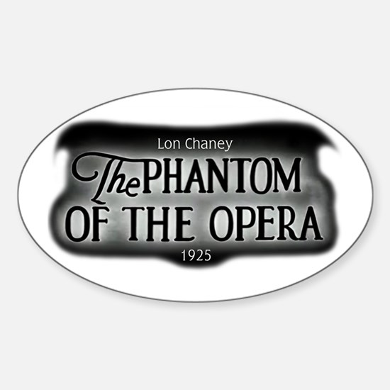 Film Title Logo 3 Oval Decal
