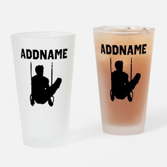 WORLD GYMNAST Drinking Glass
