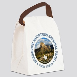 Guadalupe Mountains NP Canvas Lunch Bag