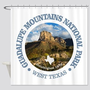 Guadalupe Mountains NP Shower Curtain