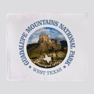 Guadalupe Mountains NP Throw Blanket