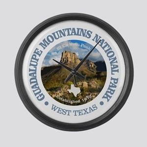 Guadalupe Mountains NP Large Wall Clock