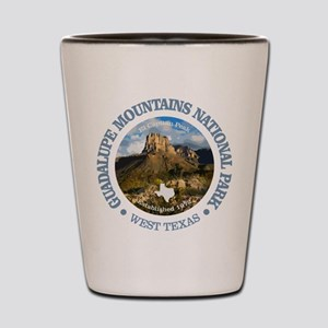 Guadalupe Mountains NP Shot Glass