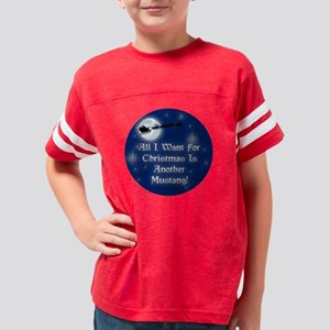 2-mustanganother Youth Football Shirt