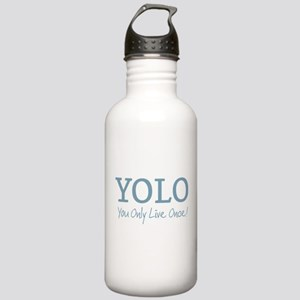 YOLO You Only Live Once Water Bottle