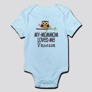 MomMom Loves Me Personalized Girls Body Suit