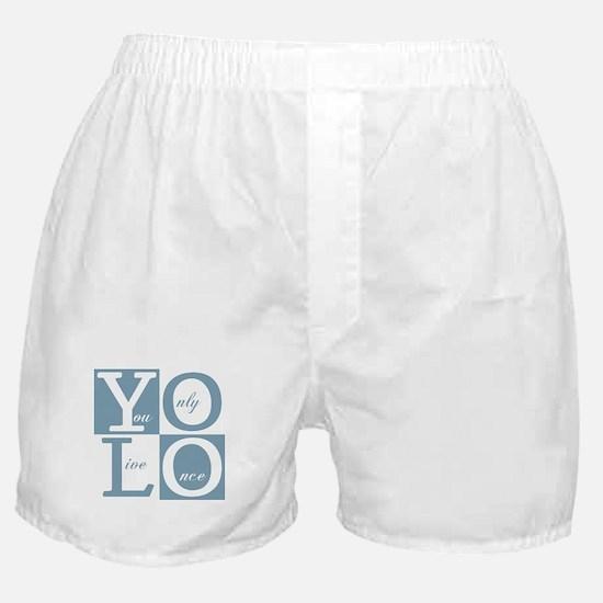 YOLO Square Boxer Shorts