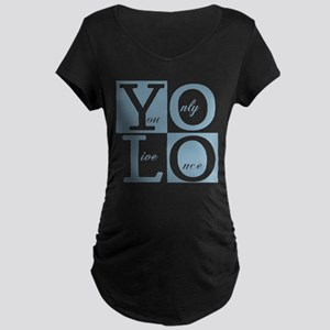 YOLO Square Maternity T-Shirt