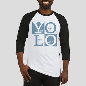 YOLO Square Baseball Jersey