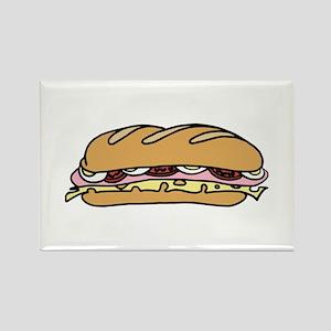 Submarine Sandwich Magnets