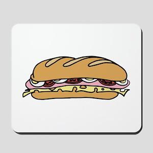 Submarine Sandwich Mousepad
