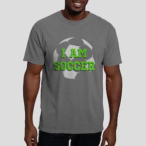 I Am Soccer Mens Comfort Colors Shirt