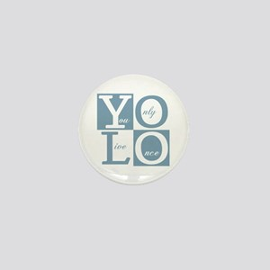 YOLO Square Mini Button