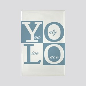 YOLO Square Magnets