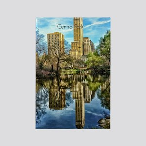 Central Park Rectangle Magnet