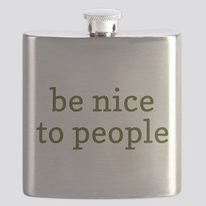 Be Nice To People Flask