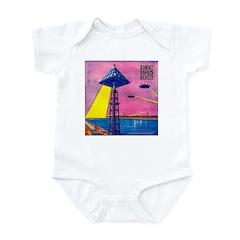 Martian Canal Infant Bodysuit