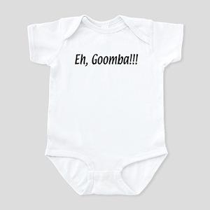 Italian Eh, Goomba Infant Bodysuit
