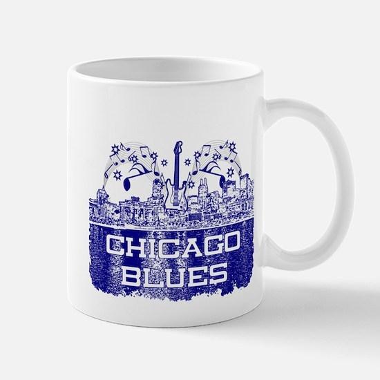 Chicago BLUES-4 Mugs