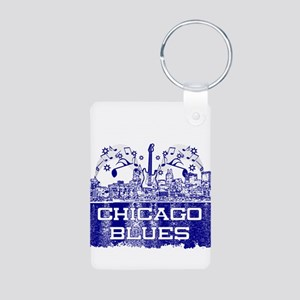 Chicago BLUES-4 Keychains