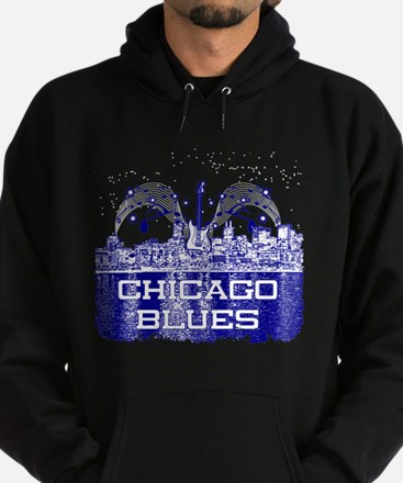 Chicago BLUES-4 Hoodie