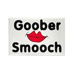 Goober Smooch Rectangle Magnet