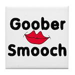 Goober Smooch Tile Coaster