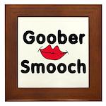 Goober Smooch Framed Tile