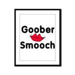 Goober Smooch  Framed Panel Print