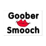 Goober Smooch  Mini Poster Print