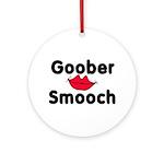 Goober Smooch Ornament (Round)
