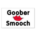 Goober Smooch Rectangle Sticker