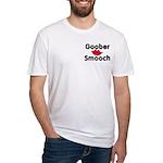 Goober Smooch Fitted T-Shirt