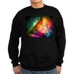 Abstract Full Moon Spectrum Sweatshirt