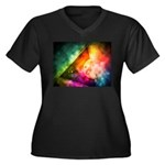 Abstract Full Moon Spectrum Plus Size T-Shirt